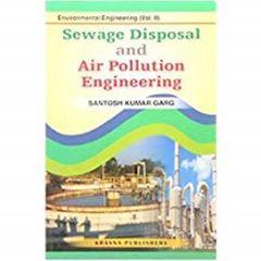Sewage Disposal & Air Pollutuion Engg.