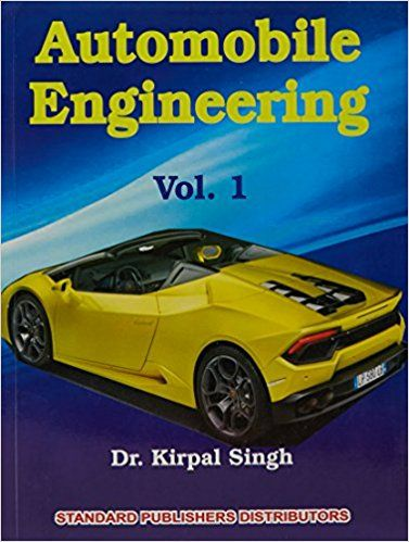 Automobile Engg. Vol.1 - Ed.14