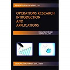 Operations Research Intro. & Applications