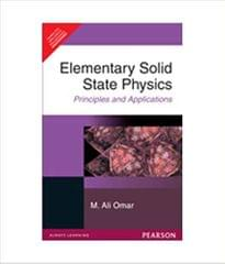 Elementary Solid State Physics