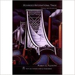 Advanced International Trade : Theory and Evidence