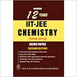 IITJEE Chemistry Solved Papers