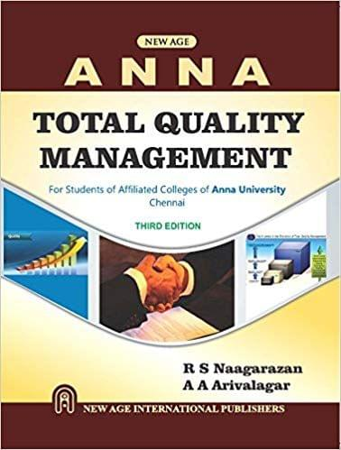 Total Quality Management (As Per Anna University)