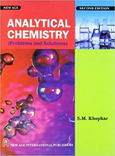 Analytical Chemistry Problems and Solutions