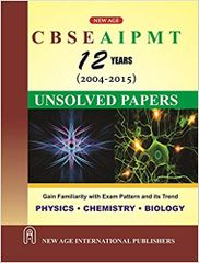 CBSE AIPMT Unsolved Papers