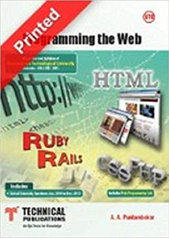 Programming the Web for VTU