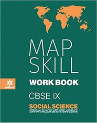 CBSE Map Skill Workbook Social Science Class 9 for 2018  19