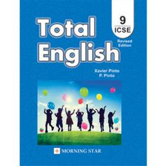 Morning Star ICSE Total English Textbook for Class 9