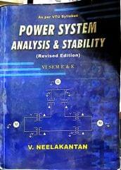Power System Analysis & Stability by V neelakantan