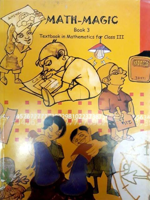 Math-Magic Book 3 (Text Book in Mathematics for class III)