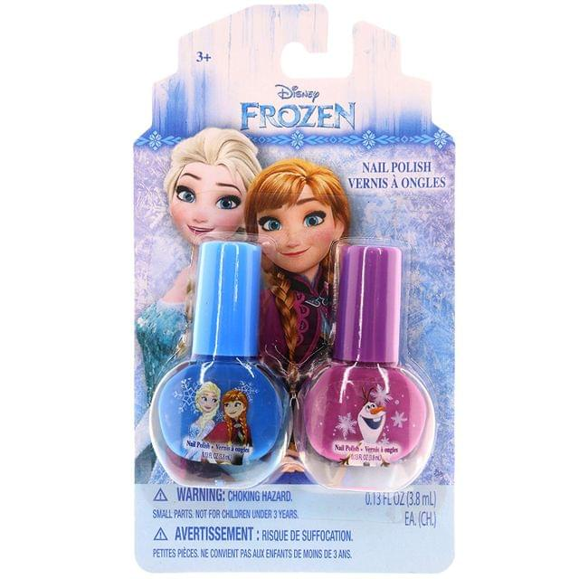 Disney Frozen Nail Polish Gitter Silver / Confetti pink