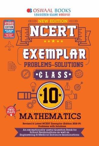 Oswaal NCERT Exemplar (Problems - solutions) Class 10 Mathematics Book (For March 2020 Exam)