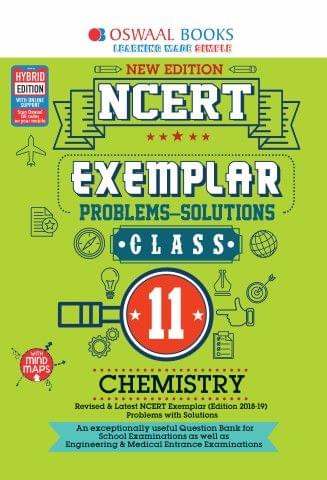 Oswaal NCERT Exemplar (Problems - solutions) Class 11 Chemistry Book (For March 2020 Exam)