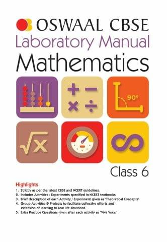 Oswaal CBSE Laboratory Manual Class 6 Mathematics Book (For March 2020 Exam)