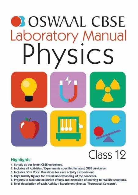 Oswaal CBSE Laboratory Manual Class 12 Physics Book (For March 2020 Exam)