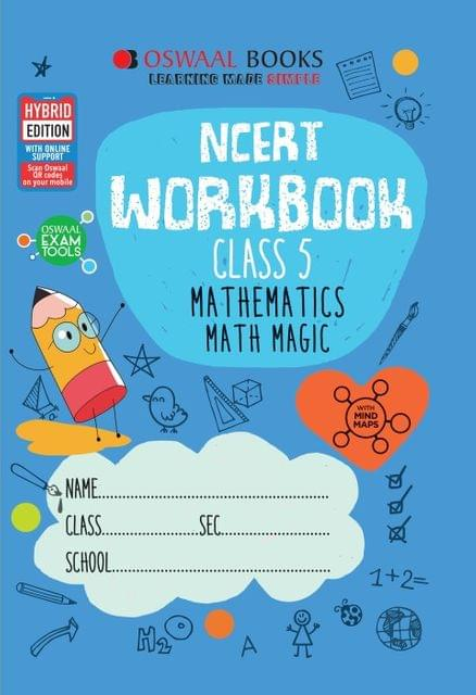 Oswaal NCERT Workbook Class 5 Mathematics Math Magic Book