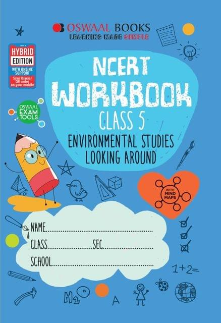 Oswaal NCERT Workbook Class 5 Environmental Studies Looking Around Book