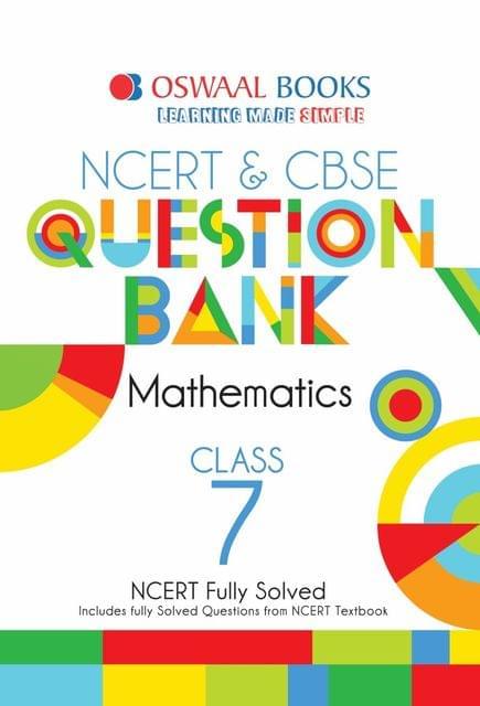 Oswaal NCERT & CBSE Question Bank Class 7 Mathematics Book (For March 2020 Exam)