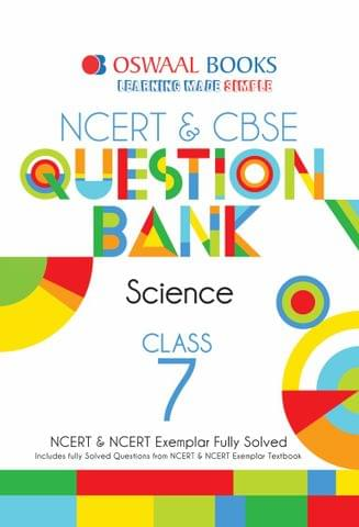 Oswaal NCERT & CBSE Question Bank Class 7 Science Book (For March 2020 Exam)