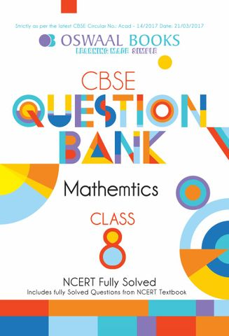 Oswaal NCERT & CBSE Question Bank Class 8 Mathematics Book (For March 2020 Exam)