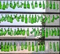 Drunken Bottle Wall
