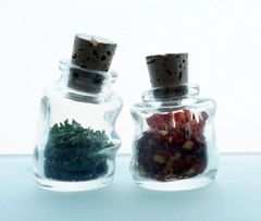 Mini Wonky Bottle with Cork CLEAR 10ml