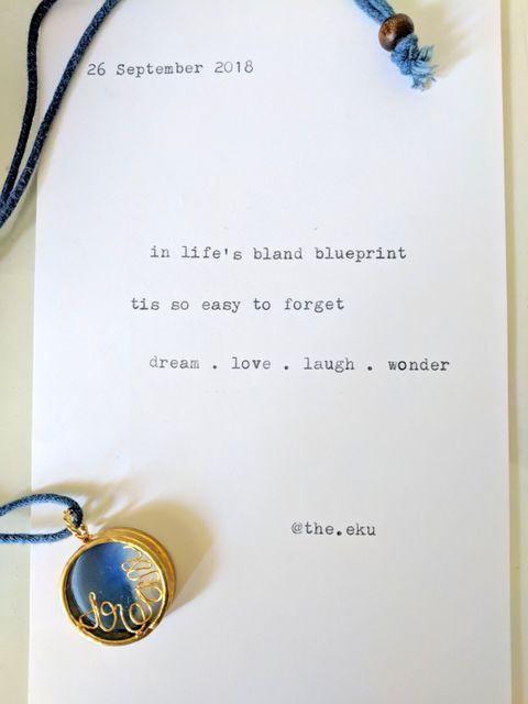 Word Locket - Large
