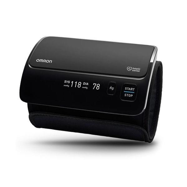 OMRON   All in One Upper Arm Blood Pressure Monitor   670g   Black   EVOLV HEM-7600T-E