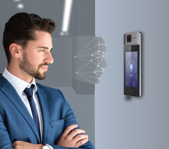 HIKVISION | Temperature Screening Ultra Face Recognition Terminal | 7'' Display | 2 MP | DS-K1T671TM-3XF
