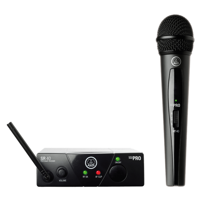 AKG | Plug & Play Wireless Microphone | Minivocal Set | WMS40