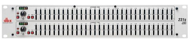 DBX | Dual Channel | Band Equalizer 31 | 231S