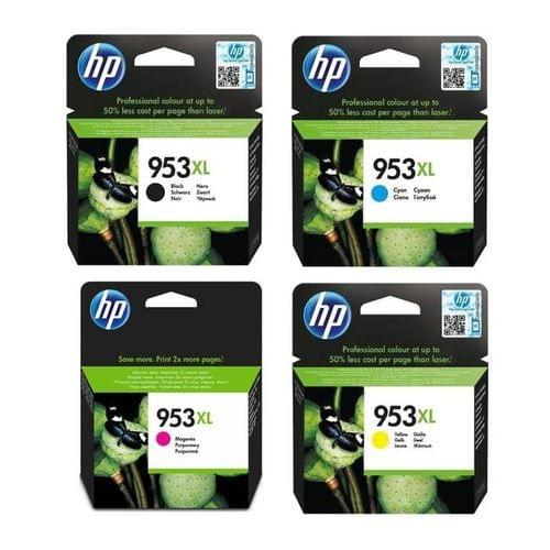 HP | High Yield Ink Cartridge ( Black, Cyan, Magenta, Yellow ) | HP 953XL