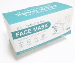 Face Mask   Non-Medical   3-PLY Disposable   50 Pcs/ Box