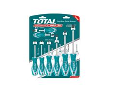 TOTAL   Screwdriver Set   8 Pcs   CR-V   THT250608