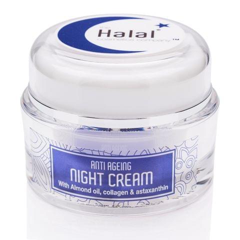 Aazeen | Halal Cosmetics| Anti-Ageing Night Cream