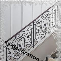 STEEL DECORATIVE GRILL   STAIRCASE   MODEL JDS204