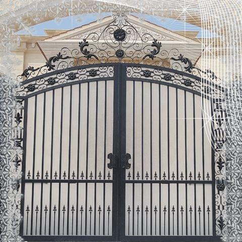 STEEL DECORATIVE GATES | ENTRANCE | OUTDOOR  MODEL JDG301