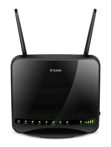 D-LINK | DWR-953 | UPTO 866 Mbps on 5 GHz + UPTO 300 Mbps on 2.4 GHz | WIRELESS AC1200 4G LTE MULTI‑WAN ROUTER