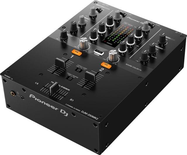 PIONEER | DJ Mixer - 2 Channel Mixer | DJM-250MK2