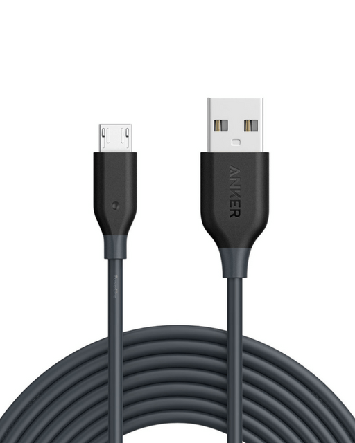 ANKER | PowerLine Micro USB Cable - 3 M | A8134