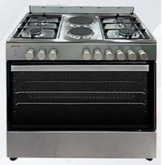 GENERAL COOL | Cooker 4 Gas B.+ Elect.Oven + 2 Hot Plate 90X60 Cm | C904GE