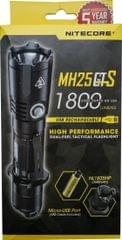 NITECORE   USB Rechargeable Tactical Flashlight 1800 Lumens (With Battery)  MH25GTS