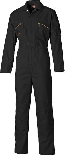 DICKIES | Redhawk Overall with Zip Front Grey /NavyBlue /Orange /BottleGreen /Black | WD4839