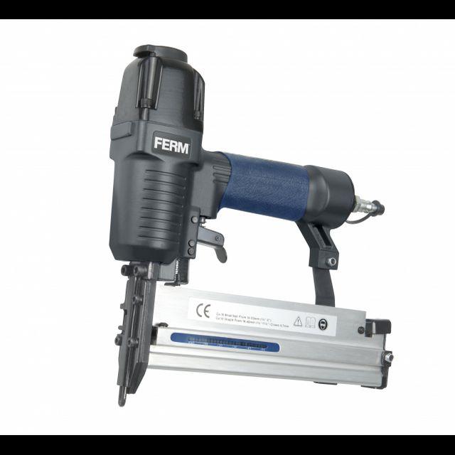 FERM | Air Nailer Stapler Combi Tacker | FEATM1051