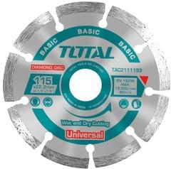 TOTAL | DIAMOND DISC UNIVERSAL | 115 X 22.2mm | TAC2111153