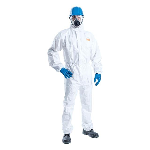 ULTITEC | Bio Hazard Disposable Coverall | Protection against Dust, Liquid Splash & Infective Agent Resistant Protective Clothing | ULTITEC 2000