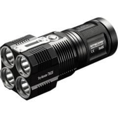 NITECORE | Tiny Monster Super Bright 716 Yard Rechargeable LED Flashlight With 6000 Lumen (With Battery) | TM28