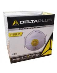 DELTAPLUS | FFP2/N95 |  Respirator Face Mask | Cup Shaped with Valve | 10 Pcs per Pack | M1200V