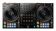 PIONEER | 4-Channel Performance DJ Controller For Serato DJ Pro | Black | 6 KG | DDJ-1000SRT