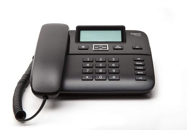 GIGASET   Corded Telephone With Caller Id Speakerphone   S30054-S6532-A601